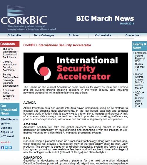 BIC March Newsletter
