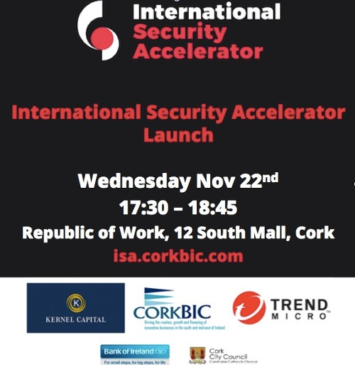 Public Launch of the International Security Accelerator Nov 22nd