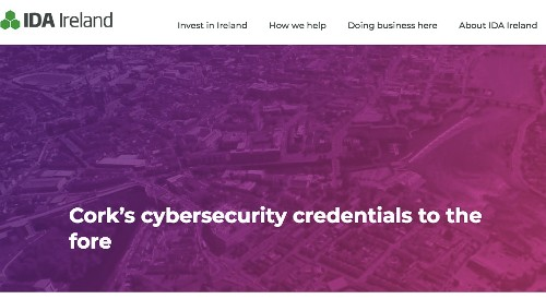 Cork's cybersecurity credentials to the fore